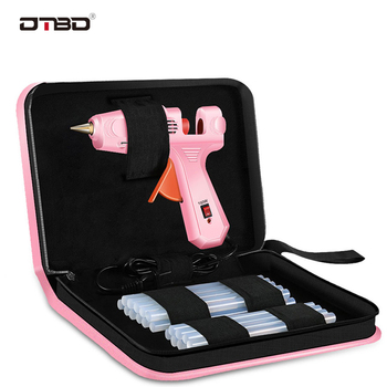DTBD 70W 150W 280W Professional Hot Melt Mini Glue Gun Set With Hot Glue Gun Sticks And Bag For DIY Repair Tools Power Tools