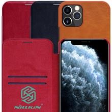 Nillkin Qin Boek Flip Leather Case Voor Iphone 12 Pro Max Mini Portemonnee Coque Capinha Voor Iphone 12 Mini