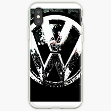 VW Transparent Case For iPhone X XSMAX X