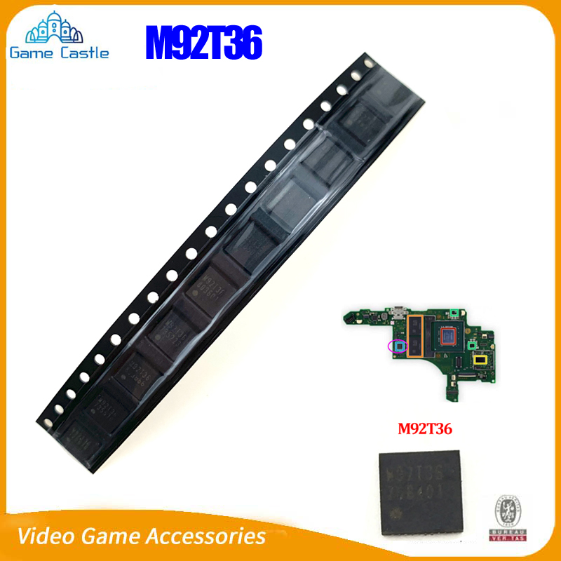 1PCS-5PCS M92T36 Replacement IC Chip Motherboard Charging Control IC Chip For Nintendo Switch Console HDMI Chip M92T17