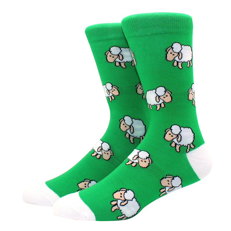 High-Quality-Combed-Cotton-Socks-Animal-Pattern-Long-Tube-Funny-Happy-Men-Socks-Novelty-Skateboard-Crew(3)