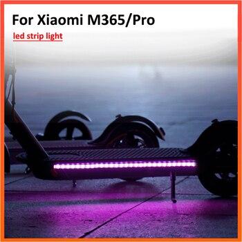 Tira de luz LED linterna barra lámpara para Xiaomi M365 / PRO Ninebot Scooter eléctrico modelo de Flash de luz larga
