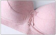 Soutien-gorge Push Up en coton pour femmes, bonnet 46D 44C 44B 42D 42C 42B 40D 40C 40B 38D 38B 36D 36C 34C 34D B B C D Bh Vs C08