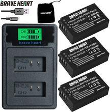 BATERIA EN-EL20 EN EL20a Batterie + LED USB Chargeur pour Nikon Coolpix P1000 Nikon1 J1, J2, J3 Nikon1 AW1 ENEL20 Batteries