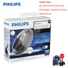 100% Original 2X Philips X treme Ultinon LED H8 H11 H16 6000K +200% More Bright Light Car Fog Lamps Genuine Bulbs 12834UNIX2