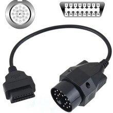 Адаптер кабель 20 Pin To 16 Pin OBD2 адаптер разъем сканер кабели для BMW E36 E38 E39 E46 E53 X5 Z3 прочный Кабель-адаптер