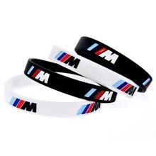 Модный силиконовый спортивный браслет с гравировкой, M performance, используется для BMW Club M3, M5, M6, серии украшения, подарки, аксессуары