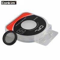 Conkim 24mm CPL Filter Für Auto Dash Kamera DVR 0806/0806 s/0903/0905/0906 magnetische Kreisförmige Polarisator Glas 24mm
