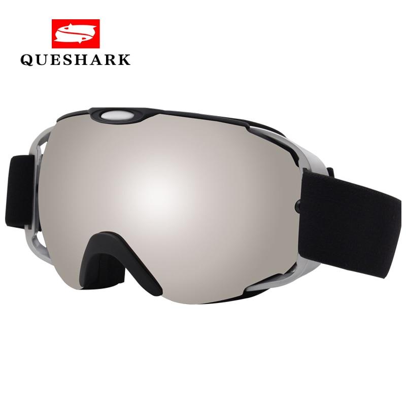 Anti-fog Ski Goggles Double-layer Anti-snow Blindness Anti-sand Ski Snowboard Glasses