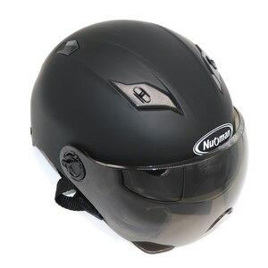 Image 1 - ฤดูร้อนใหม่รถจักรยานยนต์ไฟฟ้าจักรยานสกู๊ตเตอร์หมวกกันน็อกครีมกันแดด Anti UV Motos หมวกกันน็อก casco Capacete CE