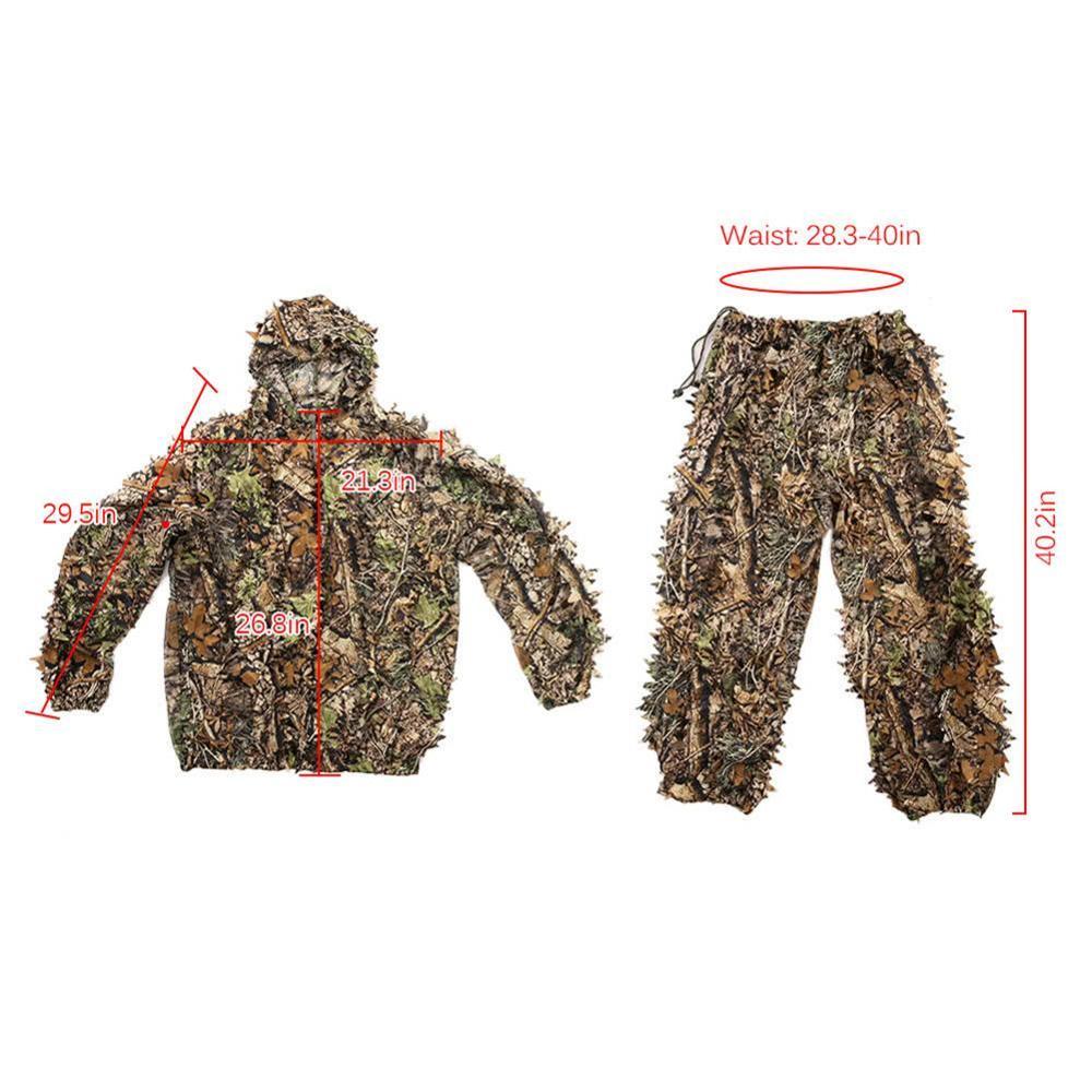 Camouflage Clothing Jacket and Pants 6