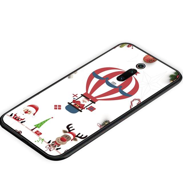 Redmi Note 7 S2 Merry Christmas Tree Bear Phone cases for Xiaomi Redmi 6A 5A 4A 4 5 6 7 Pro 5Plus GO Santa Claus soft tpu cover 4