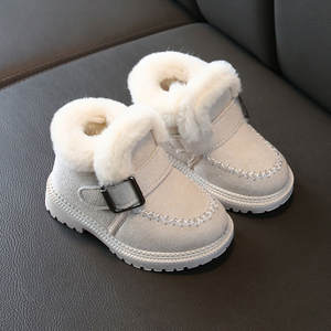 Girls Boots Shoes Slippers Toddler Boys Winter Fashion Warm Short Sofa Ankle