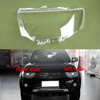 For Mitsubishi Pajero Sport Headlight Cover Headlamp Cover Headlight Shell Transparent Lampshade Mask Lens