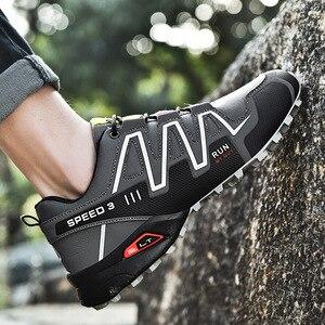 Image 3 - 運動靴男性のトレンド男性ランニングシューズ 2020 ホット販売ハイキングシューズ男性の大サイズの屋外カジュアルシューズメンズ
