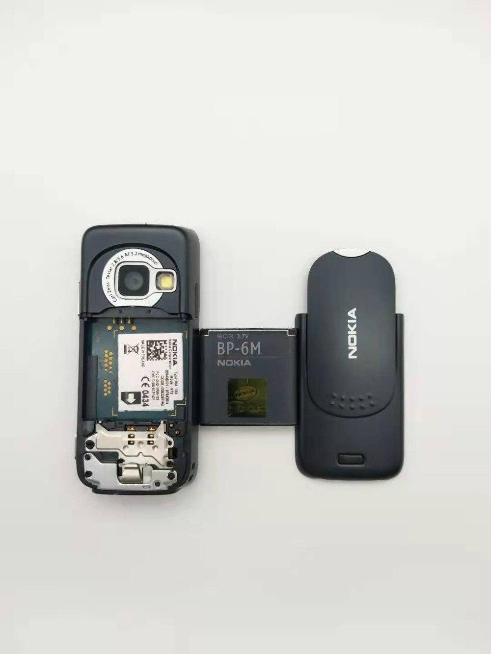 Восстановленный Мобильный телефон Nokia N73 разблокированный GSM Английский Арабский Русский Клавиатура