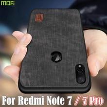 Mofi Für Xiaomi Redmi Hinweis 7 Pro Fall anmerkung 8T Fall Redmi Note7 Abdeckung Gehäuse Silikon stoßfest jeans PU leder TPU