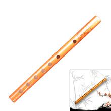1Pc chińskie tradycyjne 6 otworów flet bambusowy pionowy Student Instrument muzyczny drewniany kolor flet klarnet tanie tanio GUOMUZI CN (pochodzenie) Otwarta Other 6 Hole Bamboo Clarinet Czerwony piece 0 025kg (0 06lb ) 1cm x 1cm x 1cm (0 39in x 0 39in x 0 39in)