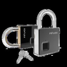 Fipilock Умный Замок, без ключа, отпечаток пальца, замок IP65, водонепроницаемый, защита от кражи, замок для двери, чехол для багажа, замок с ключом и кабелем