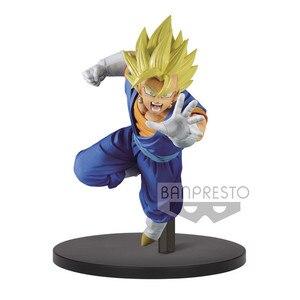 """Image 3 - Banpresto figura de Anime japonés """"Dragon Ball Super"""", colección Original de Banpresto Chousenshi Retsuden, SUPER SAIYAN VEGITO Vegetto"""