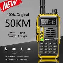 BAOFENG UV S9 Plus 10W potężny 50KM ręczny nadajnik odbiornik z UHF VHF dwuzakresowy radiotelefon Walkie Talkie Ham
