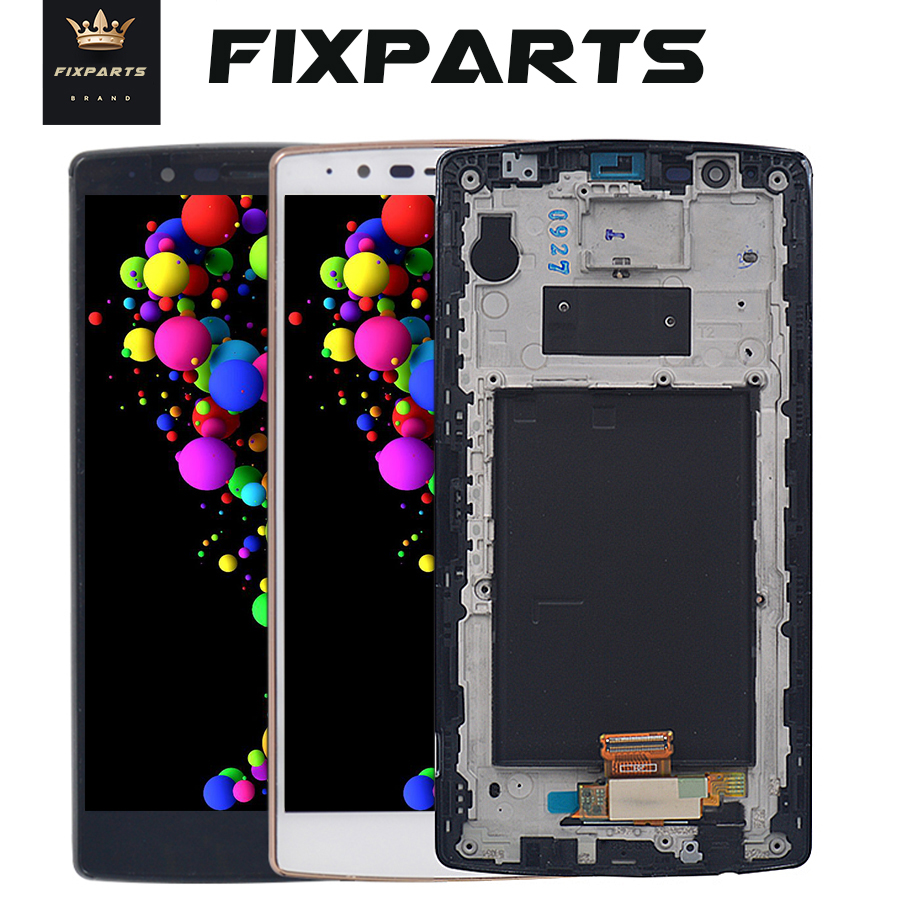 5.5 ORIGINAL Display for LG G4 LCD H815 Display Touch Screen with Frame for LG G4 LCD Replacment H810 H811 H815 LCD image