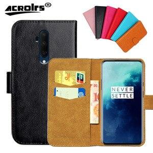 Original Case For OnePlus 7 7T 6 6T 5 5T 3 3T Pro Case 6 Colors Flip Leather Wallet Cases Cover Slots Phone Bag(China)
