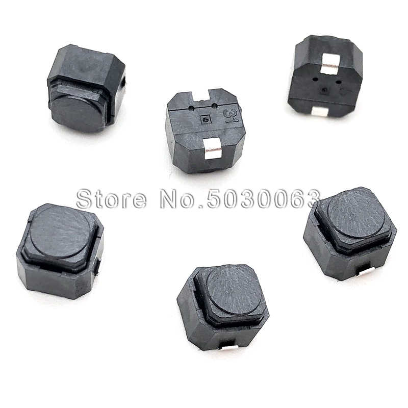 20 Pcs/lot 6*6*5 SMD Diam Silicone Switch Tombol Switch Micro Switch Tombol Touch Switch