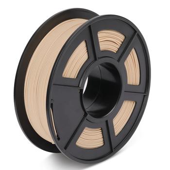1 75mm drukarka 3D włókno drewniane 10 włókno drewniane PLA 3D filament zamknij drewniany efekt drukowania 1KG z materiałem eksploatacyjnym szpuli tanie i dobre opinie 3D Warhorse Stałe Wood Fiber + PLA Wood Filament + -0 02MM 1KG with spool 190-220 degree C RoHS Reach 100 no bubble