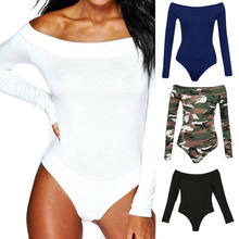 2019 New Fashiong Long Sleeve Autumn Tops Jumpsuit Korean Style Sexy Slim White Jumpsuit Bodysuit Rompers Womens Jumpsuit Short(China)
