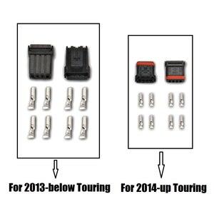 Image 3 - Für Harley Hilfs Beleuchtung Klammern scheinwerfer mit blinker Touring Straße Electra Glide 06 20 hilfs nebel lichter