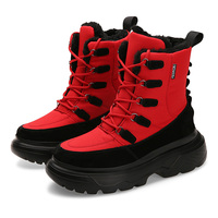 Fashion Winter Men Snow Boots Bota Coturnos Masculino Male Warm Waterproof Non slip Cotton Shoes Men Winter Sneakers Ankle Boots