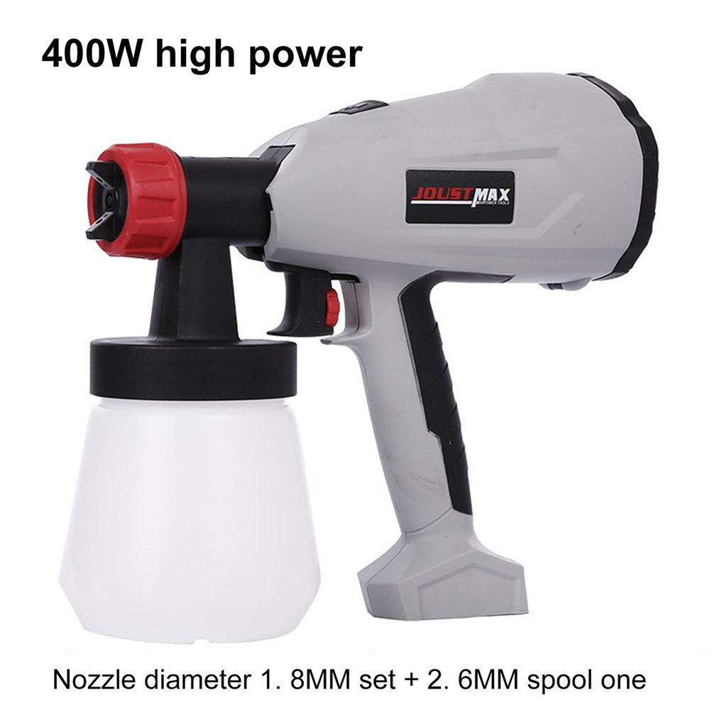 EU US Electric Sprayer Detachable Paint Spray Gu High Power High-pressure Home For Painting Cars Wood Furniture Wall Woodworkin