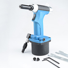 Pneumatic Tool 2.4 3.2 4.0 Fully Automatic Rivet Nut Gun Hydraulic Pull Cap