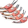 Бесщеточный электронный контроллер скорости  красный кирпич 50A/70A/80A/100A/125A/200A ESC 5 В/3A 5 В/5A BEC для мультикоптера FPV
