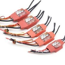 أحمر الطوب 50A/70A/80A/100A/125A/200A فرش ESC سرعة تحكم الإلكترونية 5 فولت/3A 5 فولت/5A بيك ل FPV مولتيكوبتر