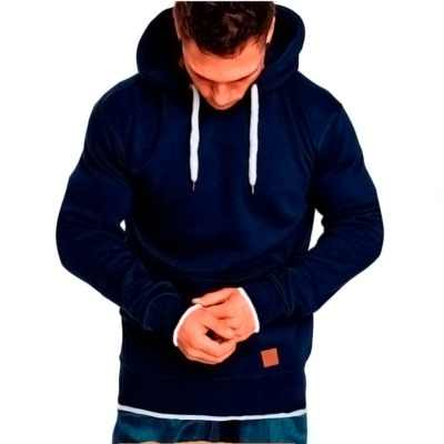Pria Hoodie Outdoor Kebugaran Hoodies Olahraga Rekreasi Pullover Atasan CY246-1