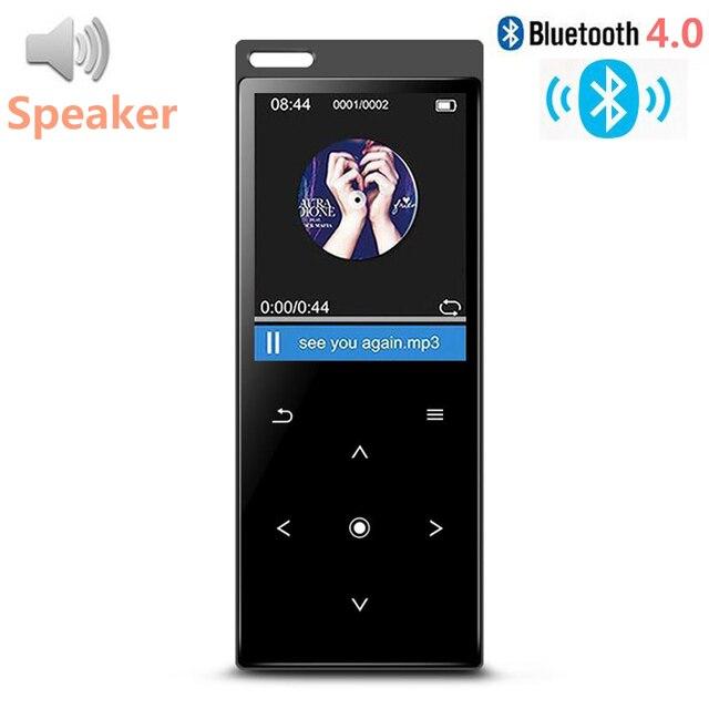Nuovo C12 Bluetooth4.0 MP3 Giocatore di Musica con Altoparlante Metallo Dello Schermo di Tocco Di Alta Qualità Lossless Musica con Radio FM, Registratore