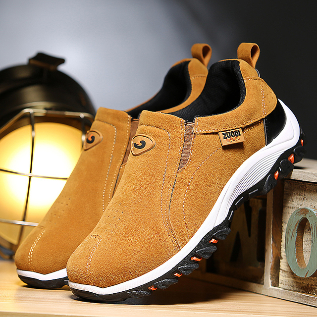 VSA269, Slip-on men loafers suede moccasins spring summer driving shoes comfortable light footwear soft flats hombres size 38-48 2