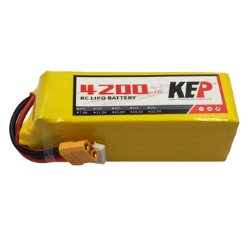 RC LiPo Battery 6S 4200mAh 22.2v 30C 40C MAX 60C 80C Rechargeable lipo battery For Remote Control Model XT60 High POWER