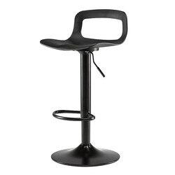 Nowy europejski stołek barowy Columbine nowoczesny minimalistyczny wysoki stołek krzesło barowe domu powrót stołek barowy kreatywny stołek podnośnik krzesło barowe na