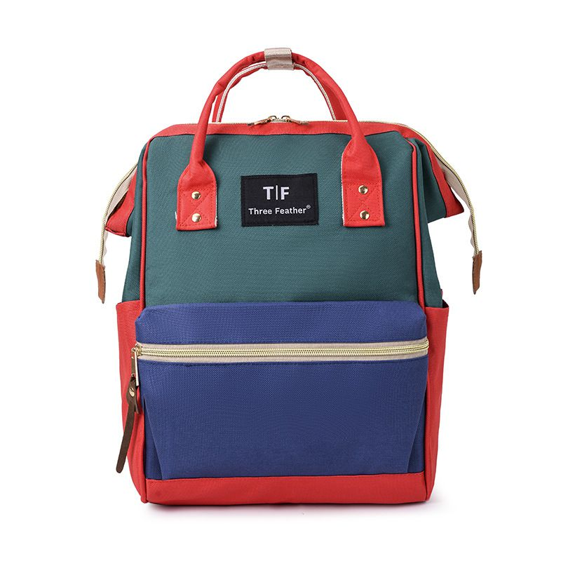 Модный рюкзак для подгузников для мам, Большая вместительная сумка для подгузников, водонепроницаемая сумка для подгузников, дорожная сумка для детских колясок - Цвет: RGL