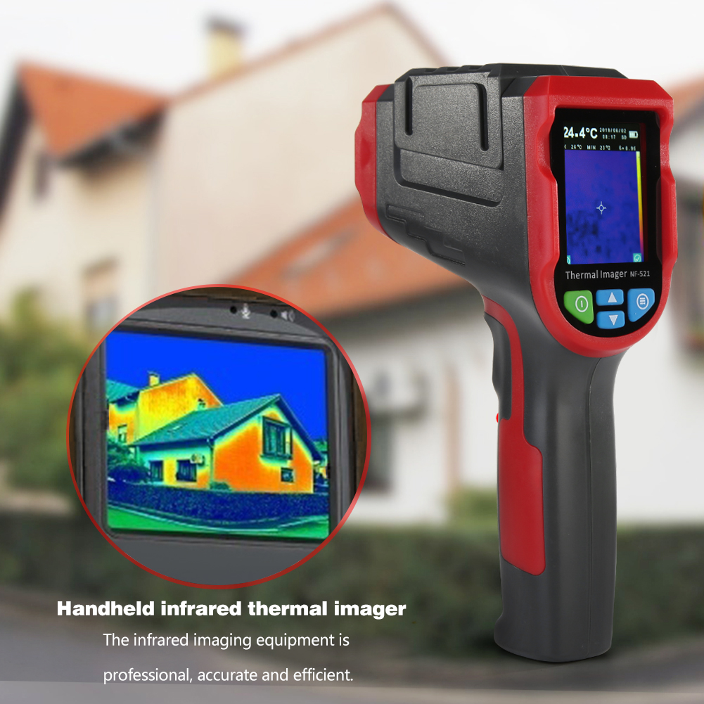 Digital Thermal Camera Made With ABS And Electronic Components Material 11