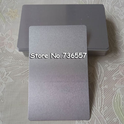 cartao de liga aluminio em branco 05
