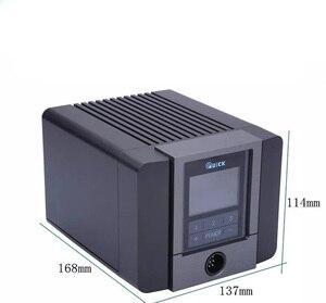 Image 3 - سريع TS1200A أفضل نوعية محطة لحام خالية من الرصاص الحديد الكهربائية 120 واط مكافحة ساكنة لحام 8 ثانية لحام سريع التدفئة