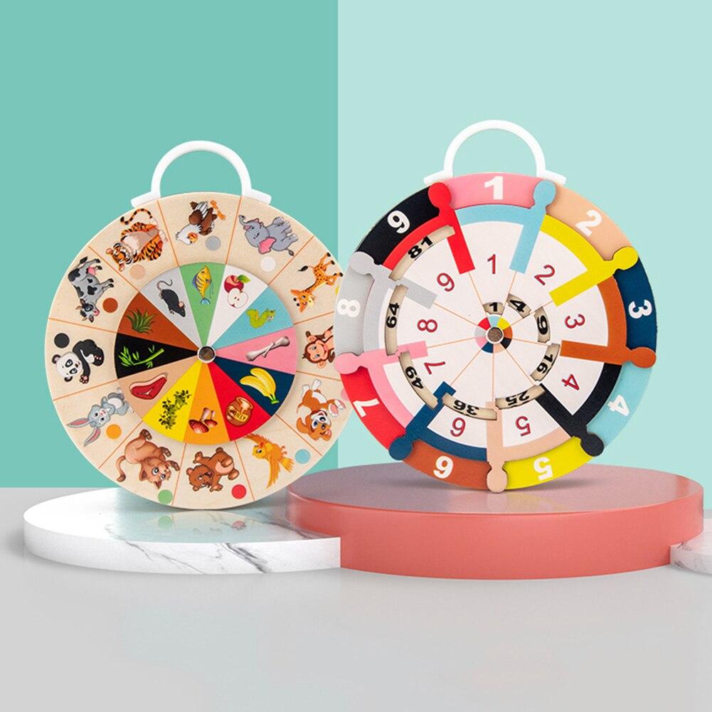 Новая Доска разложения умножения двухсторонняя животная пищевая цепь сопряжение и разложение доска детская игрушка #38