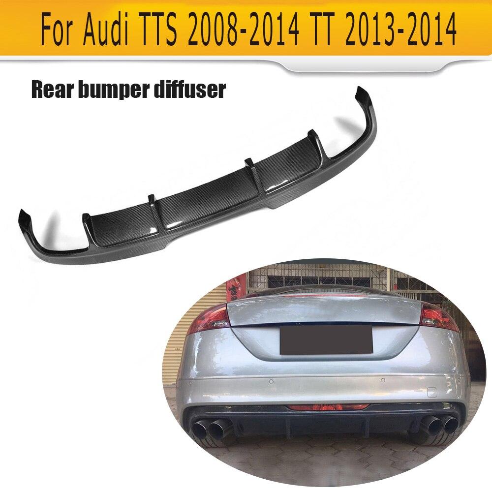 Audi TTS Bumper 2008 - 2014 TT 2013 2014 Avtomobil Avtomobil Spoyler - Avtomobil ehtiyat hissələri - Fotoqrafiya 2