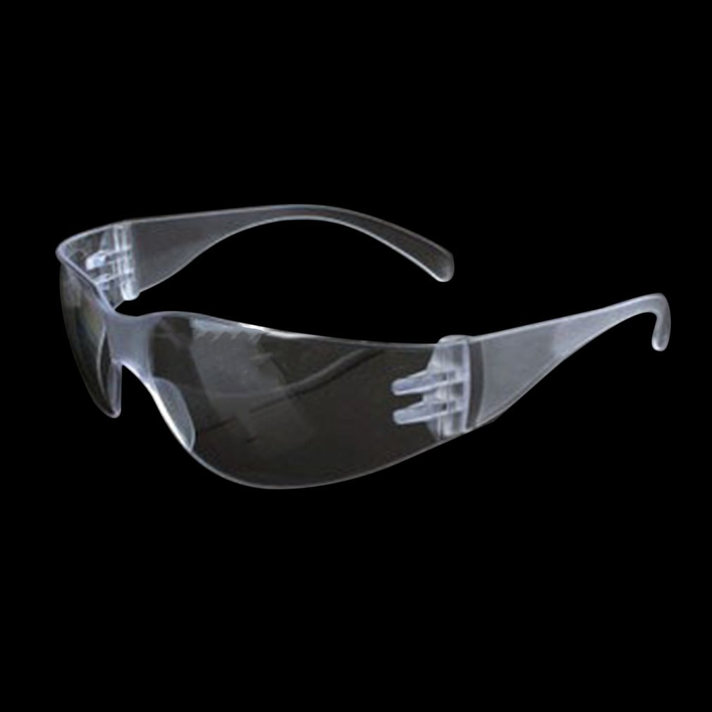 Safety Glasses Lab Eye Protection Medical Protective Eyewear Clear Lens Workplace Safety Goggles Anti-dust Supplies Wholesale