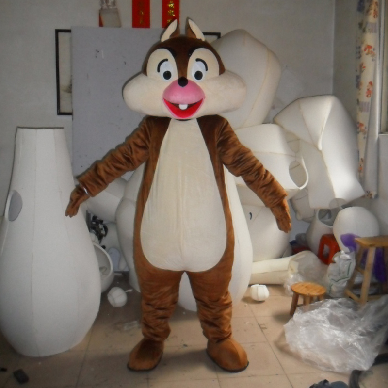 Costume de mascotte écureuil mascotte d'halloween