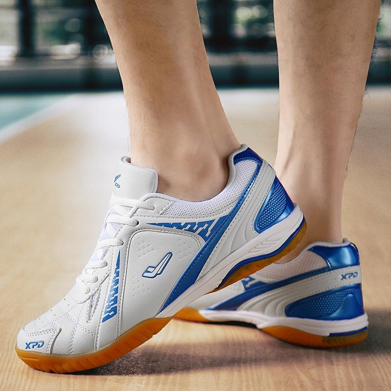 Unisex Professional Table Tennis Shoes Bailan Men Table Tennis Training Sports Shoes Non-Slip Rubber Girls Pingpong Sports Shoes